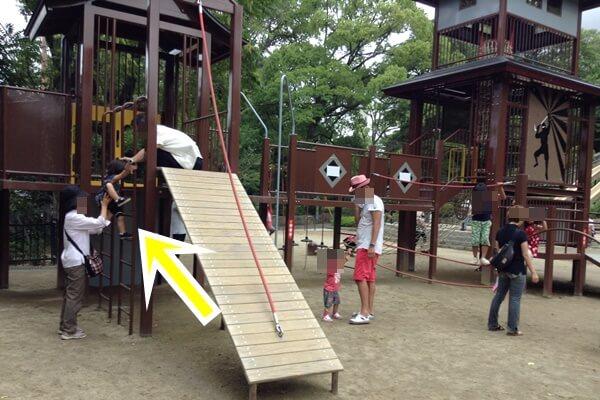 五月山公園 遊具は少し大きい子用