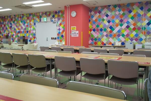 ATC遊びマーレ フードコート 食堂