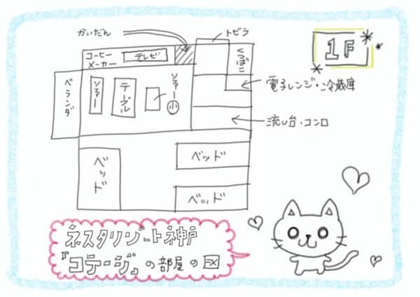 ネスタリゾート神戸 コテージ 部屋