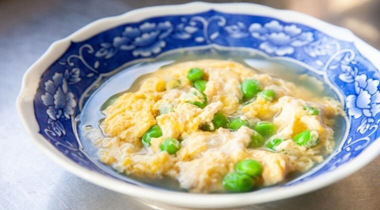 きょうの料理ビギナーズ『グリンピースの卵あん』レシピ。作り方